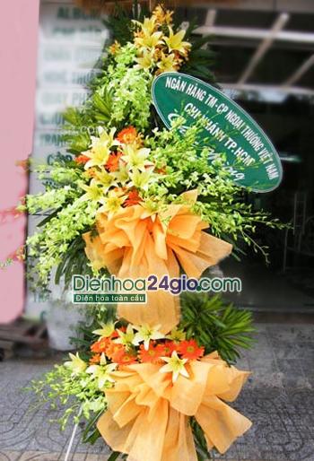 Hoa tặng khai trương cửa hàng 1