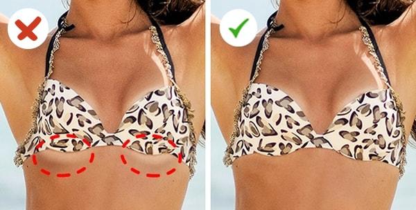 Cách nhận biết kích cỡ áo ngực có vừa với bạn hay không