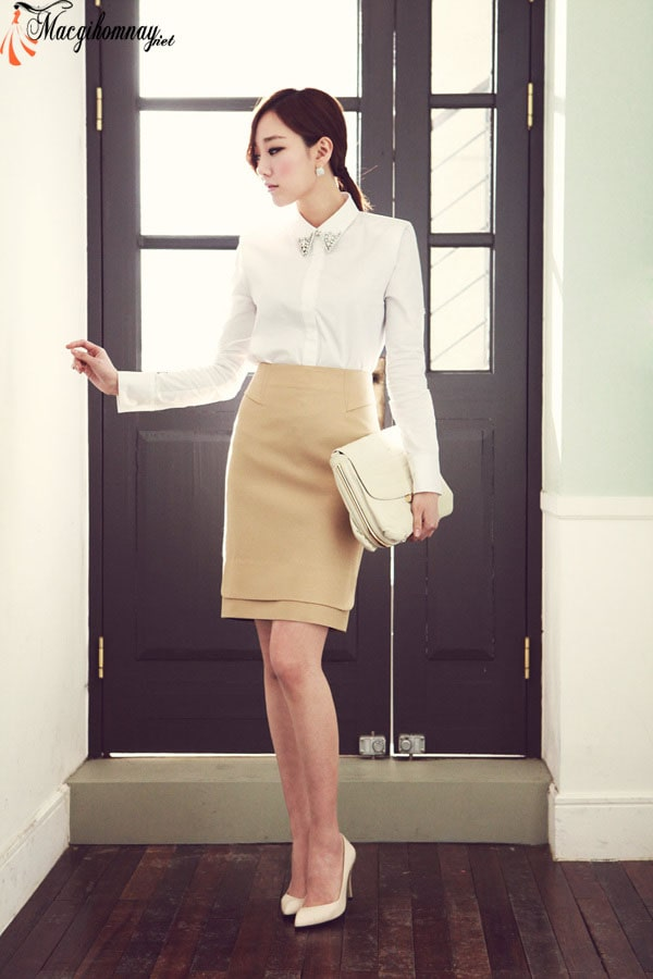 Tạo điểm nhấn cho bộ trang phục