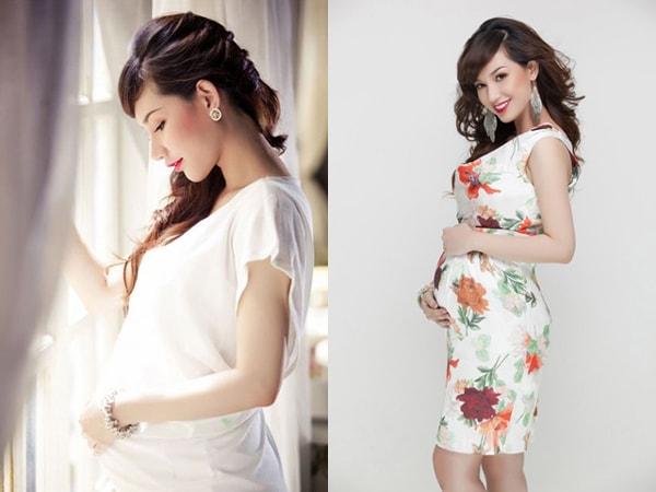 Váy bầu dáng rộng là sự lựa chọn hàng đầu của mẹtrong suốt giai đoạn thai kỳ