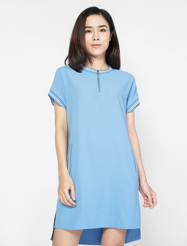 Váy dáng suông che được nhiều khuyết điểm của phụ nữ sau sinh