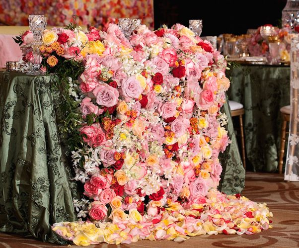 Hoa sự kiện tiệc cưới