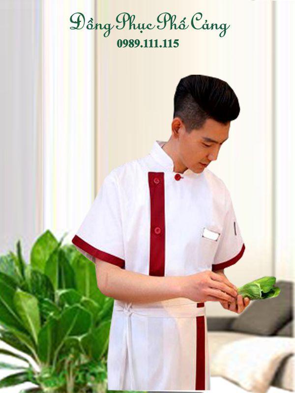 Mẫu đồng phục nhân viên đầu bếp