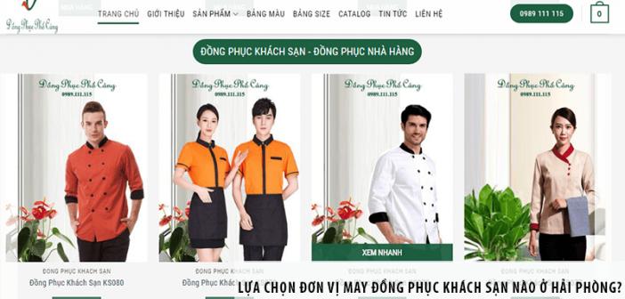 Lựa chọn đơn vị may đồng phục khách sạn nào ở Hải Phòng?
