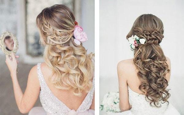 Hoa lan cài tóc cô dâu