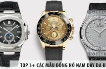 TOP 3+ các mẫu đồng hồ nam dây da đẹp dành riêng cho phái mạnh
