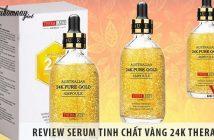 Review Serum tinh chất vàng 24K Thera Lady